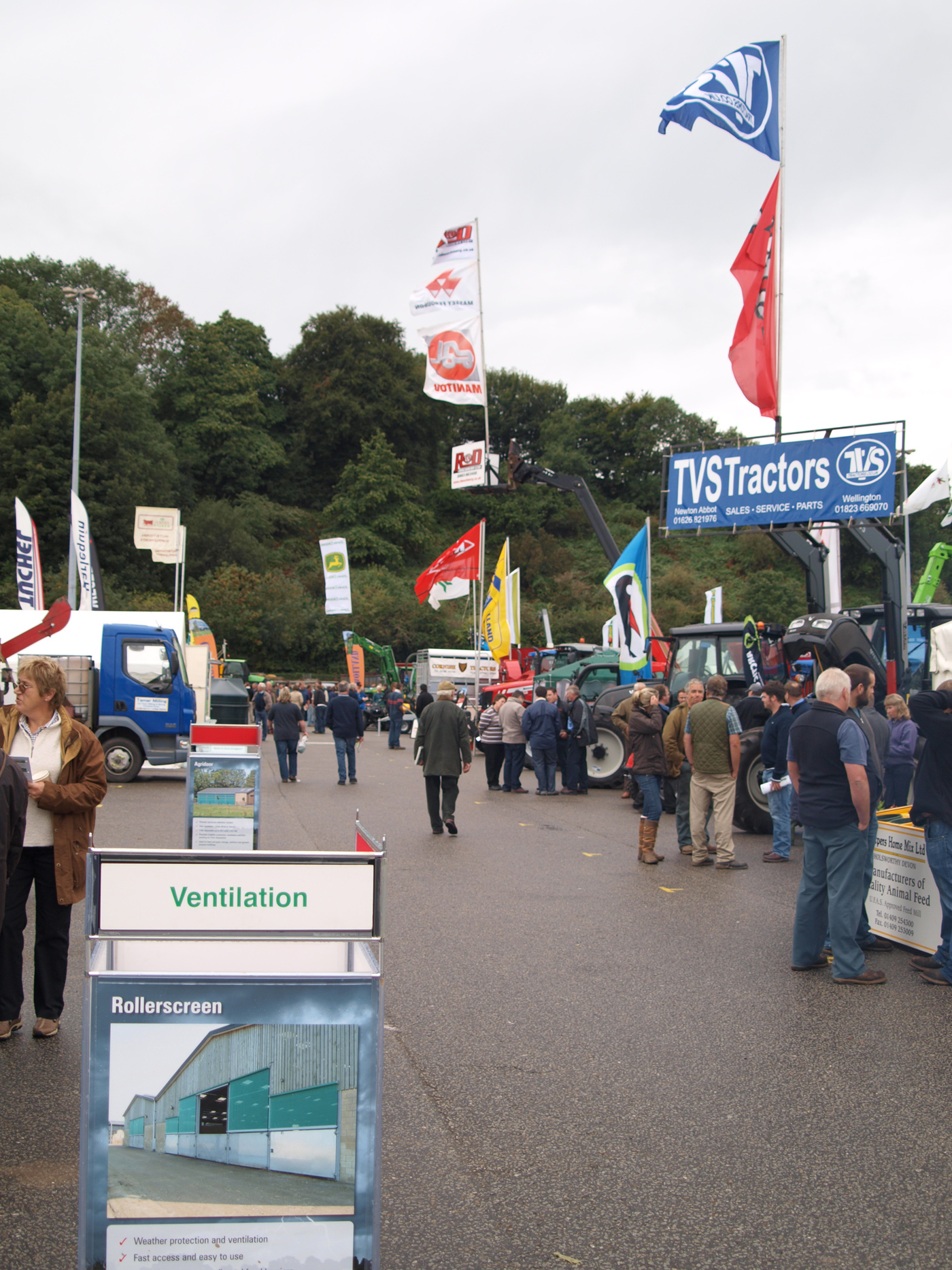 Outside Trade Stands